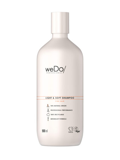 weDo Light & Soft Shampoo 900ml