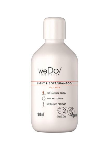 weDo Light & Soft Shampoo 100ml