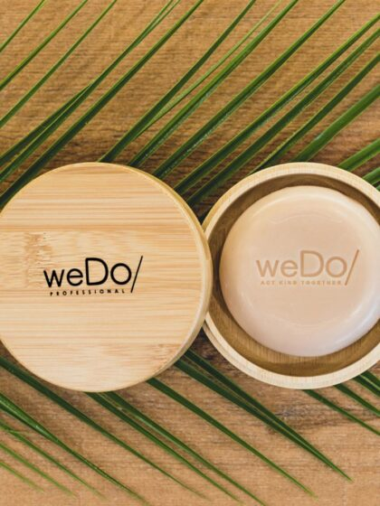 weDo No Plastic Shampoo Θήκη bamboo