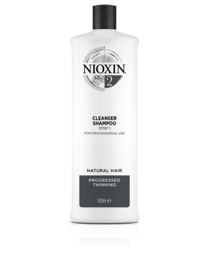 Nioxin Cleanser Σύστημα 2 1Lt