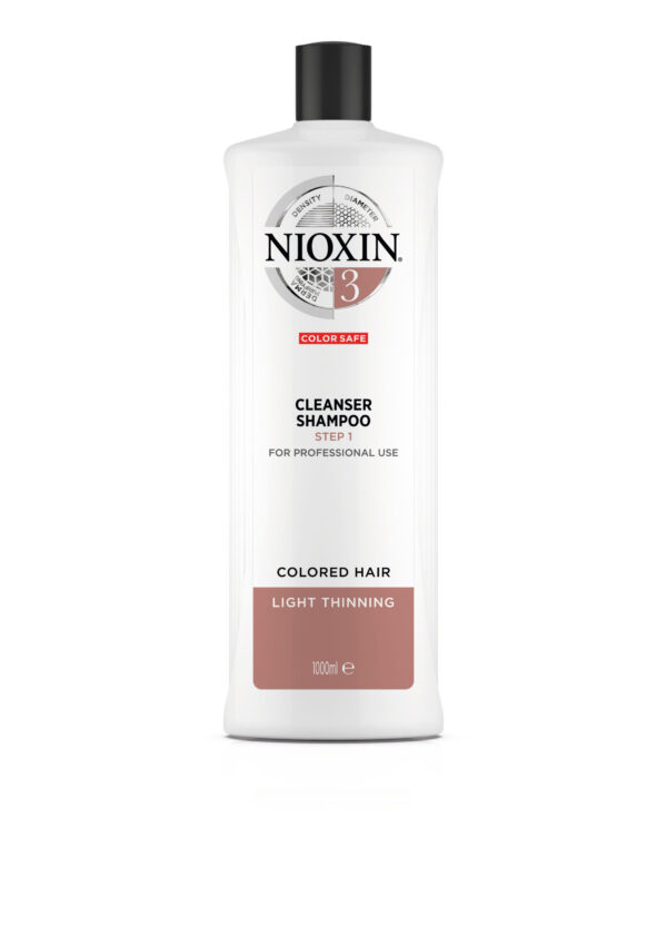 Nioxin Cleanser Σύστημα 3 1Lt