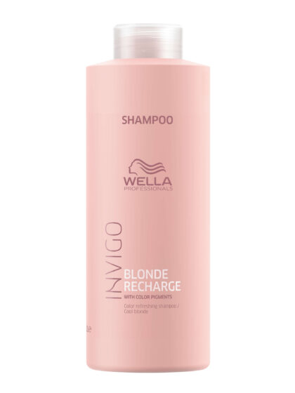 Wella Invigo Blonde Recharge Color Refreshing Shampoo 1Lt