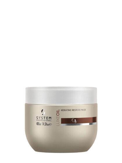 System Professional LuxeOil Keratin Restore Mask 400ml