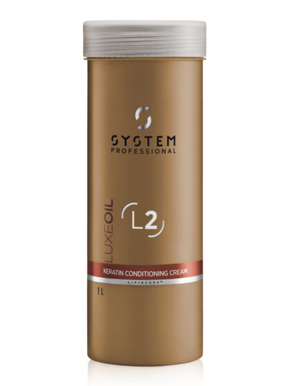 System Professional LuxeOil Keratin Conditioning Cream 1Lt
