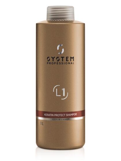 System Professional LuxeOil Keratin Protect Shampoo 1Lt