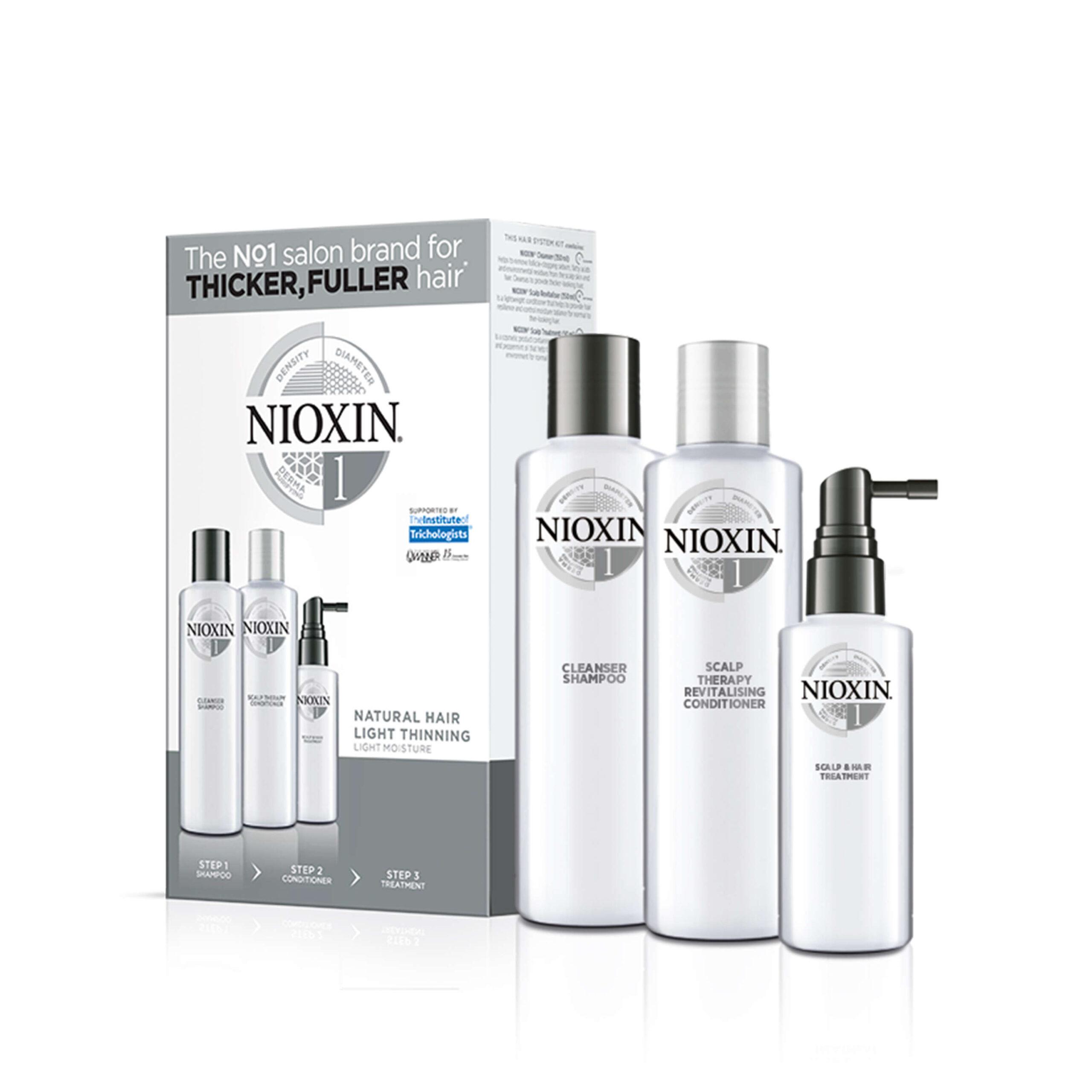 Nioxin Trial Kit Σύστημα 1