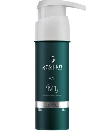 System Professional Man Triple Shampoo 1Lt