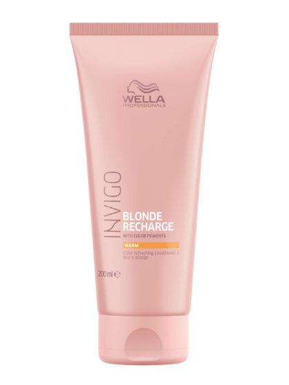 Wella Invigo Blonde Recharge Warm Color Refreshing Conditioner 200ml