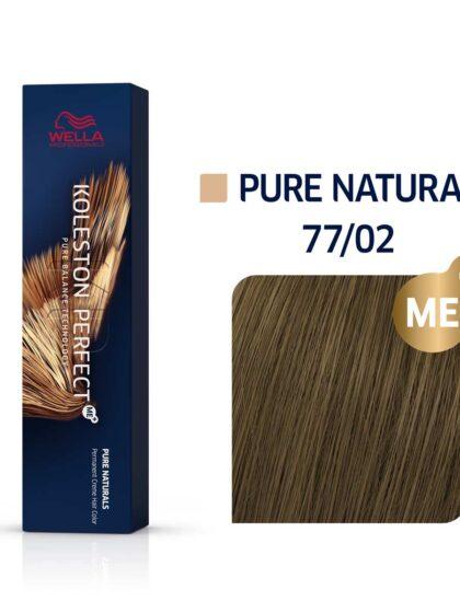 Wella Professionals Koleston Perfect Me Pure Naturals 77/02 60ml