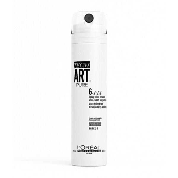 L'Oreal Professionnel Tecni Art 6-Fix Pure Spray 100ml