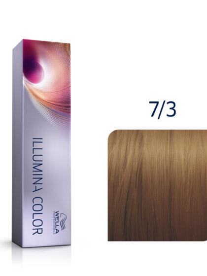 Wella Illumina Color 7/3 Medium Gold Blonde 60ml