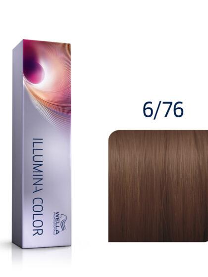 Wella Illumina Color 6/76 Dark Brown Violet Blonde 60ml
