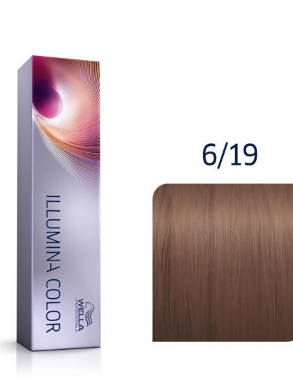 Wella Illumina Color 6/19 Dark Ash Cendre Blonde 60ml