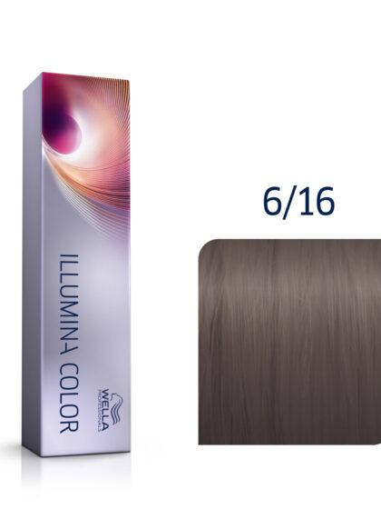 Wella Illumina Color 6/16 Dark Ash Violet Blonde 60ml