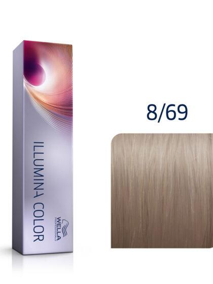 Wella Illumina Color 8/69 Light Violet Cendre Blonde 60ml