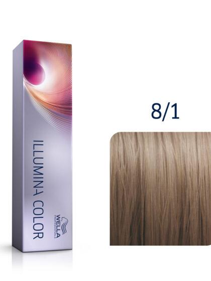 Wella Illumina Color 8/1 Light Ash Blonde 60ml