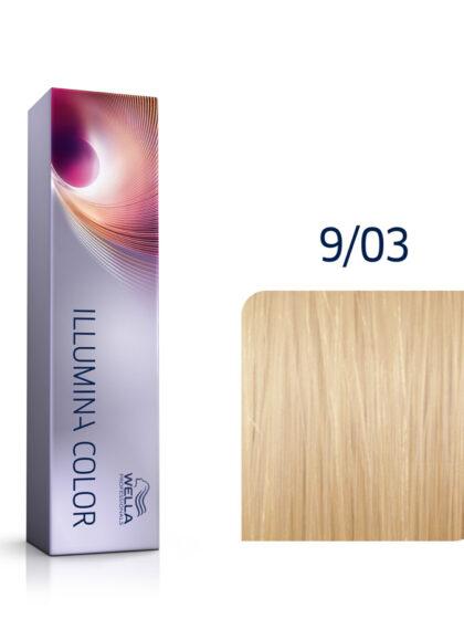 Wella Illumina Color 9/03 Very Light Natural Gold 60ml