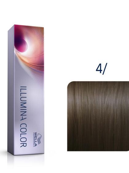Wella Illumina Color 4/ Pure Medium Brown 60ml