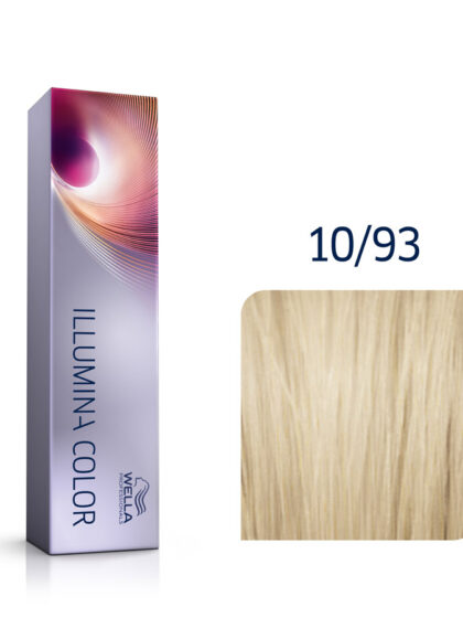 Wella Illumina Color 10/93 Lightest Cendre Gold Blonde 60ml