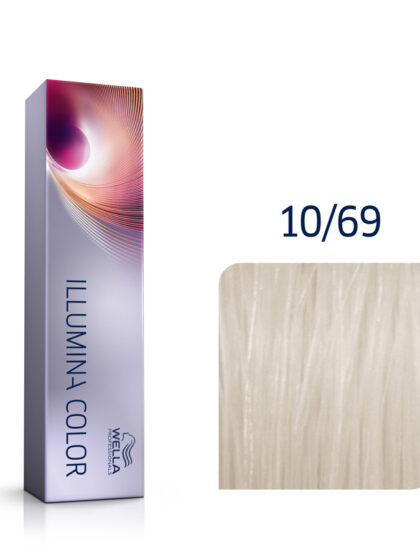 Wella Illumina Color 10/69 Lightest Violet Cendre Blonde 60ml