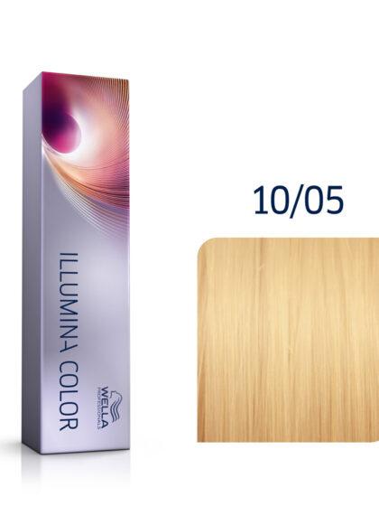 Wella Illumina Color 10/05 Lightest Natural Mahogany Blonde 60ml