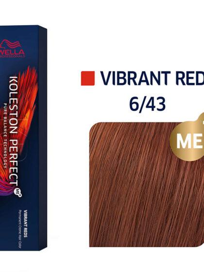 Wella Professionals Koleston Perfect Me Vibrant Reds 6/43 60ml