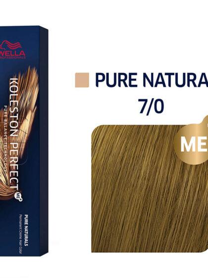 Wella Professionals Koleston Perfect Me Pure Naturals 7/0 60ml