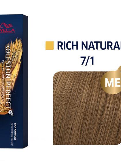 Wella Professionals Koleston Perfect Me Rich Naturals 7/1 60ml