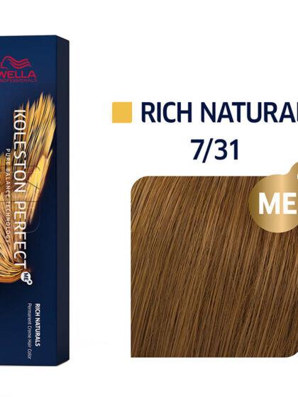 Wella Professionals Koleston Perfect Me Rich Naturals 7/31 60ml