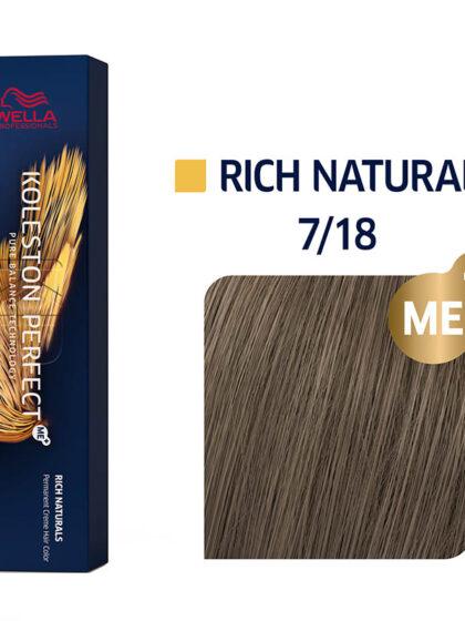 Wella Professionals Koleston Perfect Me Rich Naturals 7/18 60ml