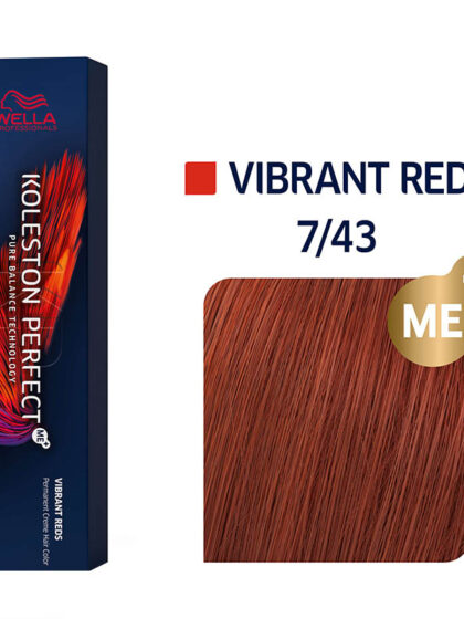 Wella Professionals Koleston Perfect Me Vibrant Reds 7/43 60ml