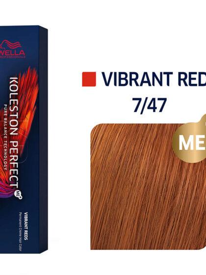 Wella Professionals Koleston Perfect Me Vibrant Reds 7/47 60ml