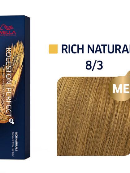 Wella Professionals Koleston Perfect Me Rich Naturals 8/3 60ml