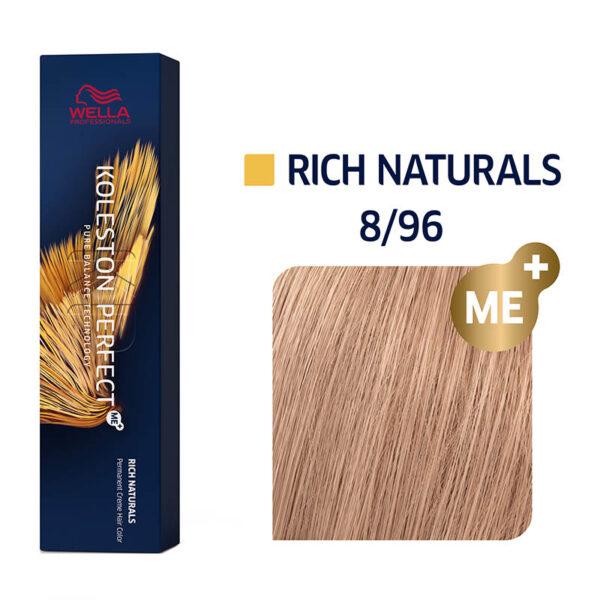Wella Professionals Koleston Perfect Me Rich Naturals 8/96 60ml