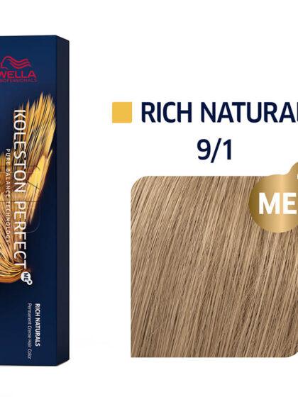 Wella Professionals Koleston Perfect Me Rich Naturals 9/1 60ml