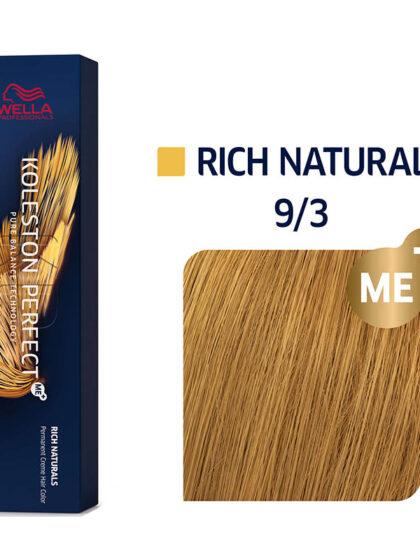 Wella Professionals Koleston Perfect Me Rich Naturals 9/3 60ml