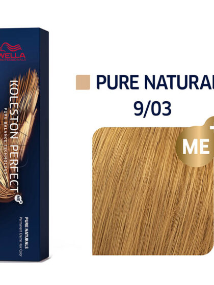 Wella Professionals Koleston Perfect Me Pure Naturals 9/03 60ml