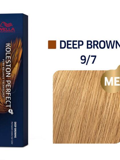 Wella Professionals Koleston Perfect Me Deep Browns 9/7 60ml