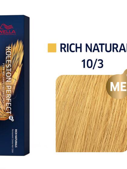 Wella Professionals Koleston Perfect Me Pure Naturals 10/3 60ml