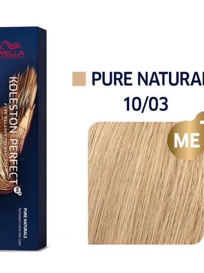 Wella Professionals Koleston Perfect Me Pure Naturals 10/03 60ml