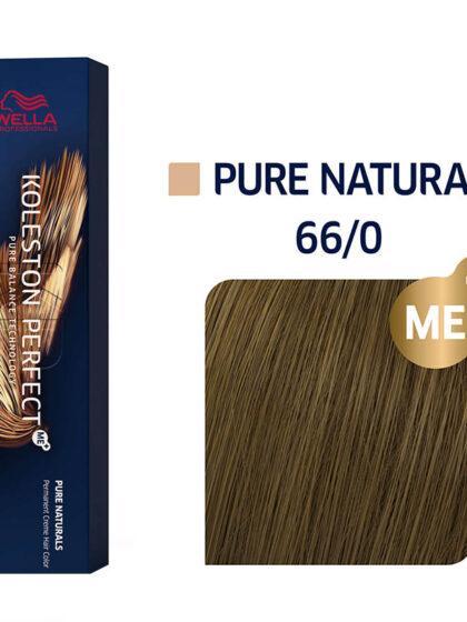 Wella Professionals Koleston Perfect Me Pure Naturals  66/0 60ml