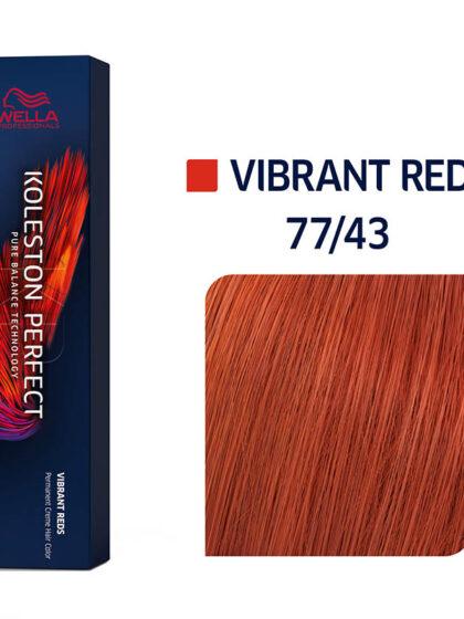 Wella Professionals Koleston Perfect Me Vibrant Reds 77/43 60ml