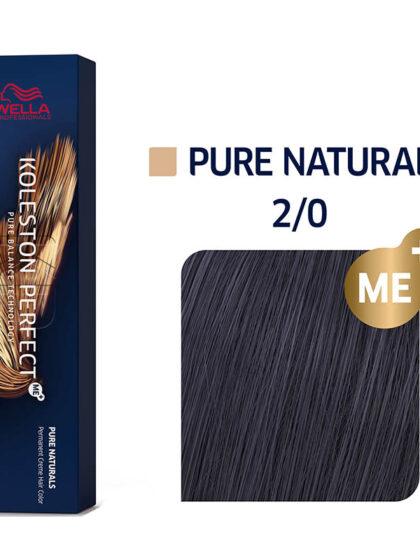 Wella Professionals Koleston Perfect Me Pure Naturals 2/0 60ml