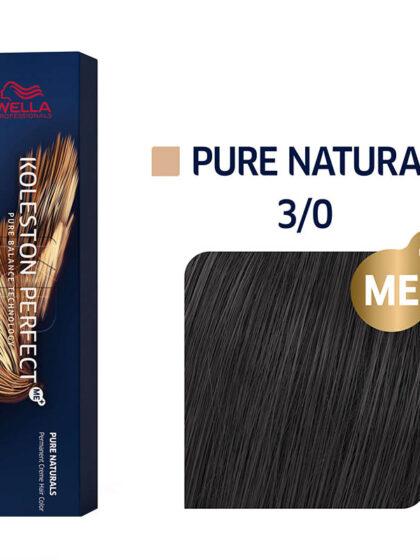 Wella Professionals Koleston Perfect Me Pure Naturals 3/0 60ml