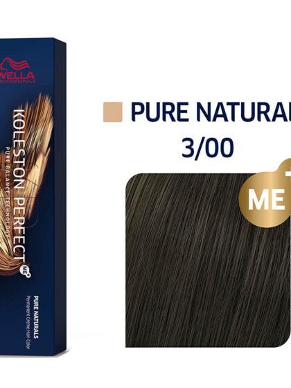 Wella Professionals Koleston Perfect Me Pure Naturals 3/00 60ml