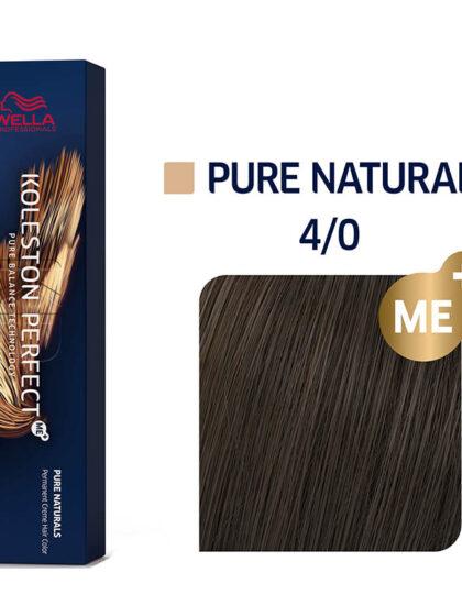Wella Professionals Koleston Perfect Me Pure Naturals 4/0 60ml