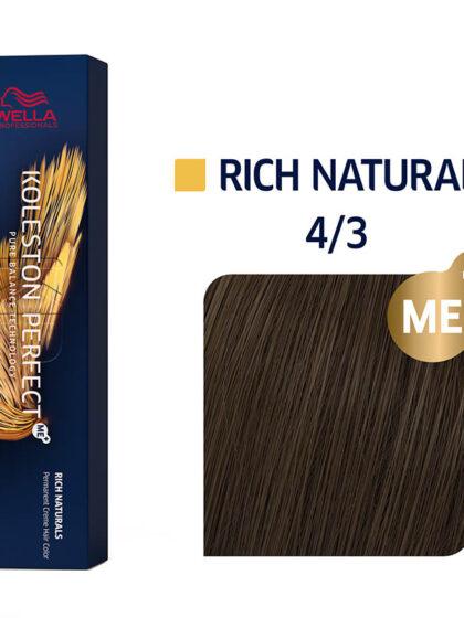 Wella Professionals Koleston Perfect Me Rich Naturals 4/3 60ml