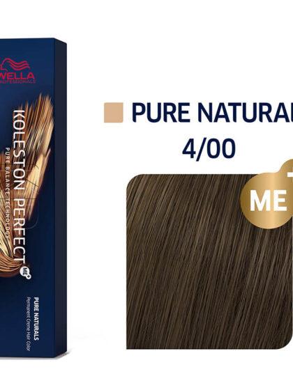 Wella Professionals Koleston Perfect Me Pure Naturals 4/00 60ml