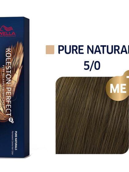 Wella Professionals Koleston Perfect Me Pure Naturals 5/0 60ml