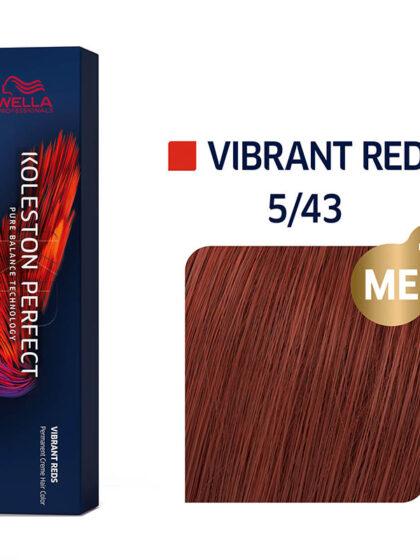 Wella Professionals Koleston Perfect Me Vibrant Reds 5/43 60ml